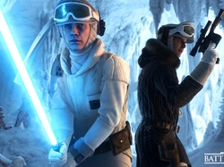 Han Solo, Postacie, Star Wars: Battlefront, Luke Skywalker