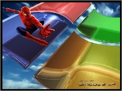 Spajderman, Windows, Operacyjny, System, Xp