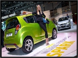 Chevrolet Spark, Salon