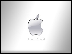 Apple, Srebrne, Logo