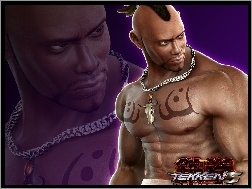 Tekken 5 Dark Ressurection, Bruce Irwing