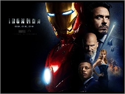 Gwyneth Paltrow, Terrence Howard, Robert Downey Jr., Iron Man, Jeff Bridges