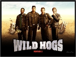 Martin Lawrence, Tim Allen, John Travolta, Wild Hogs, William H. Macy