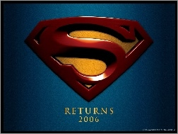 tło, Superman Returns, logo