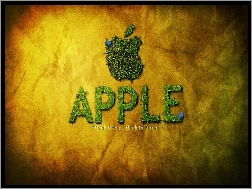 Trawa, Logo, Apple, Napis