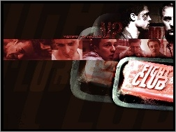 twarze, Edward Norton, fight club
