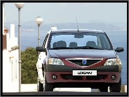 Ulica, Bordowa, Dacia Logan