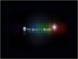 Ultimate, Logo, Kolorowe, Windows 7