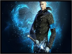 , Vergil, Devil May Cry, Gra, Miecz