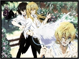 Oz Vessalius, Vincent Nightray, Xerxes Break, Gilbert Nightray