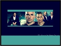 bracia, Wentworth Miller, Prison Break, Dominic Purcell