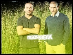 trawa, Wentworth Miller, Prison Break, Dominic Purcell