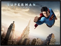 wieżowce, Brandon Routh, Superman Returns, miasto