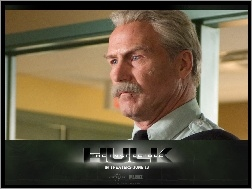 twarz, William Hurt, The Incredible Hulk, wąs