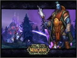 fantasy, postać, World Of Warcraft The Burning Crusade, wojownik