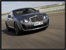 Wyścigowy, Bentley Continental GTC, Tor