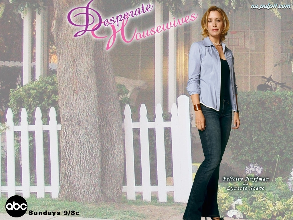 drzewo, Desperate Housewives, Felicity Huffman