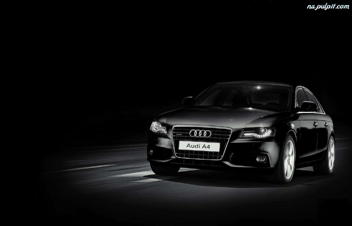Dzienne Audi A4 B8 Czarne światła Na Pulpit