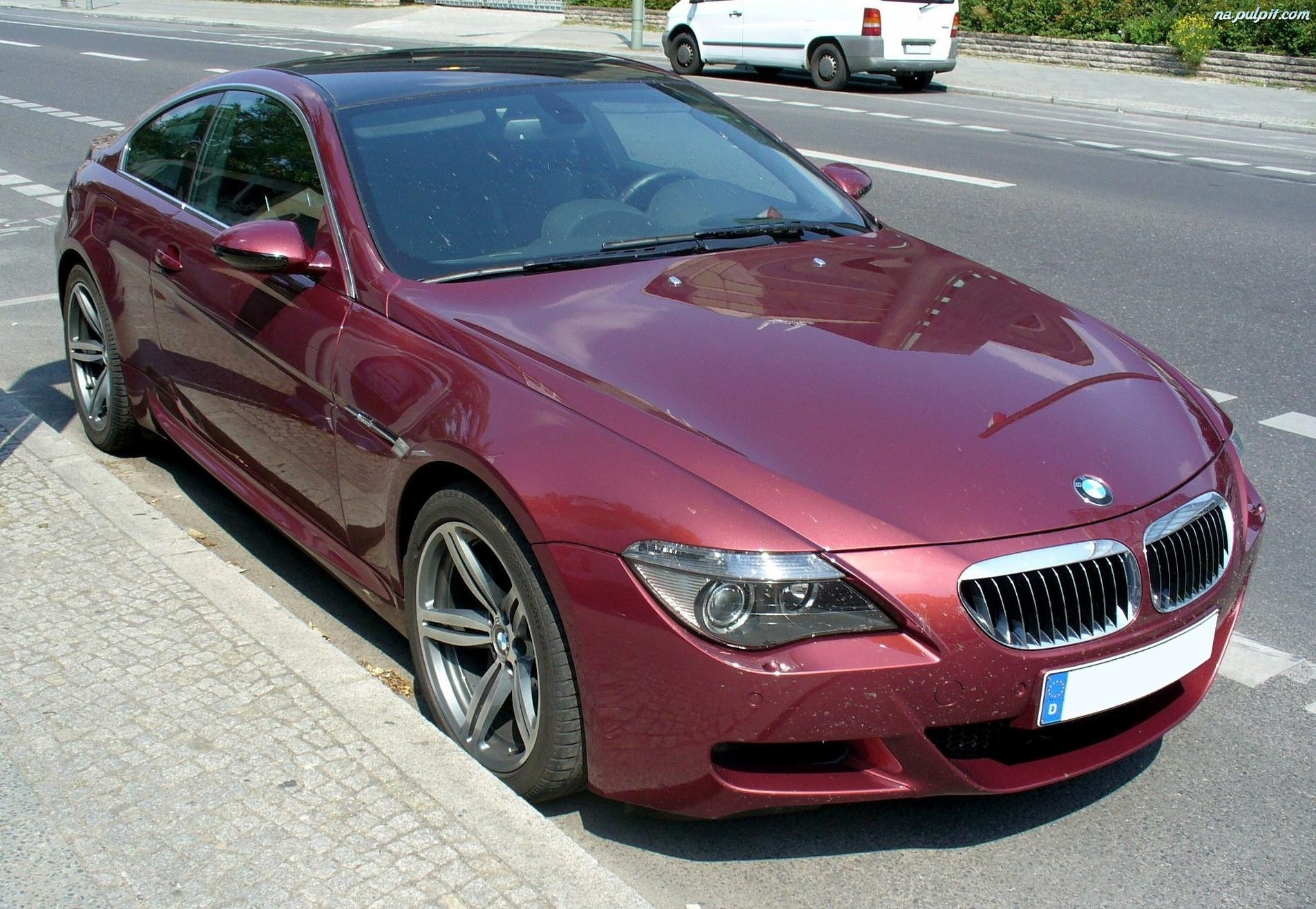 E65, Metalik, Bordowy, BMW 7