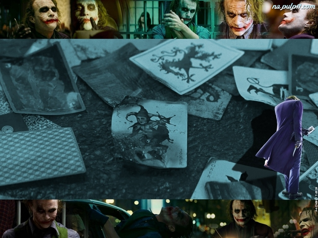 karty, Joker, Batman Dark Knight