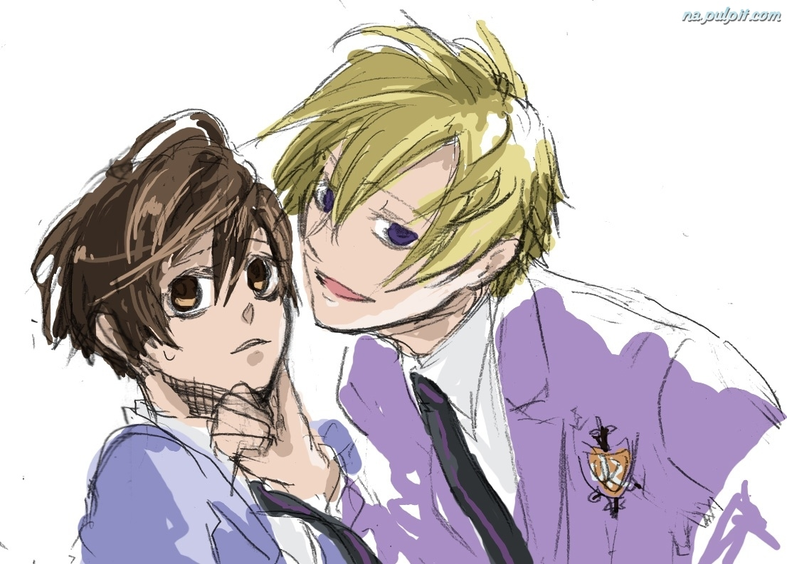 mundurki, Ouran High School Host Club, osoby