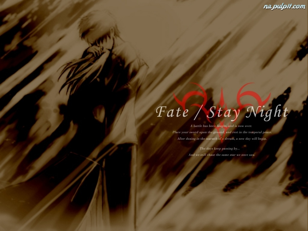 portret, Fate Stay Night, para