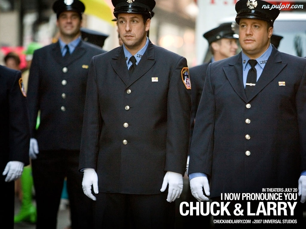 mundur, Adam Sandler, I Now Pronounce You Chuck And Larry, Kevin James