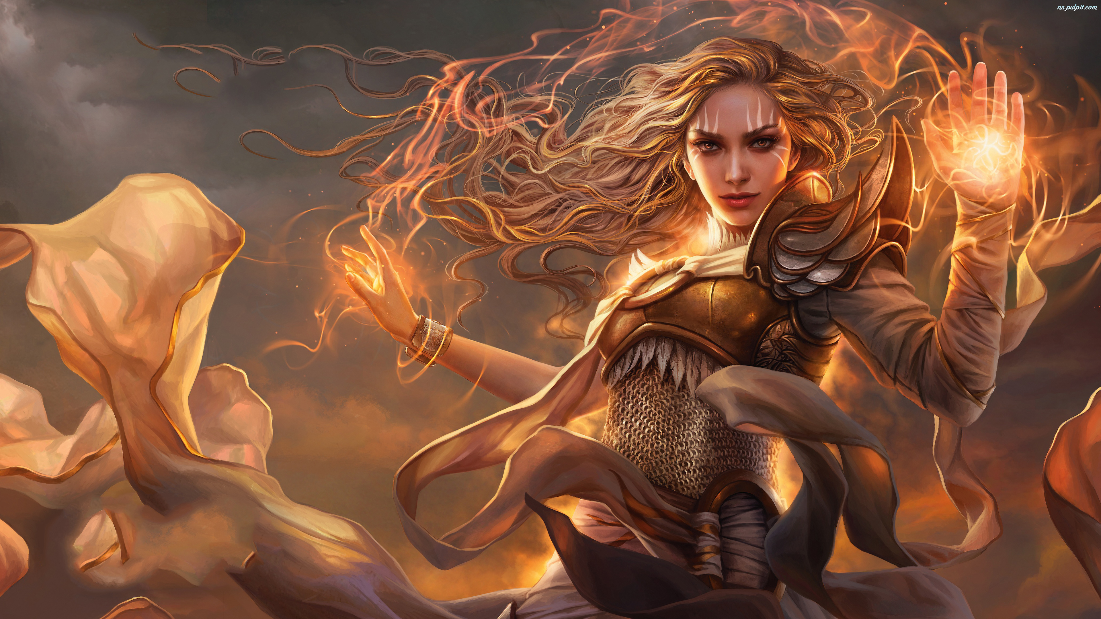 Serra the Benevolent, Karciana, Magic The Gathering, Kobieta, Fantasy, Modern Horizons, Gra, Karta