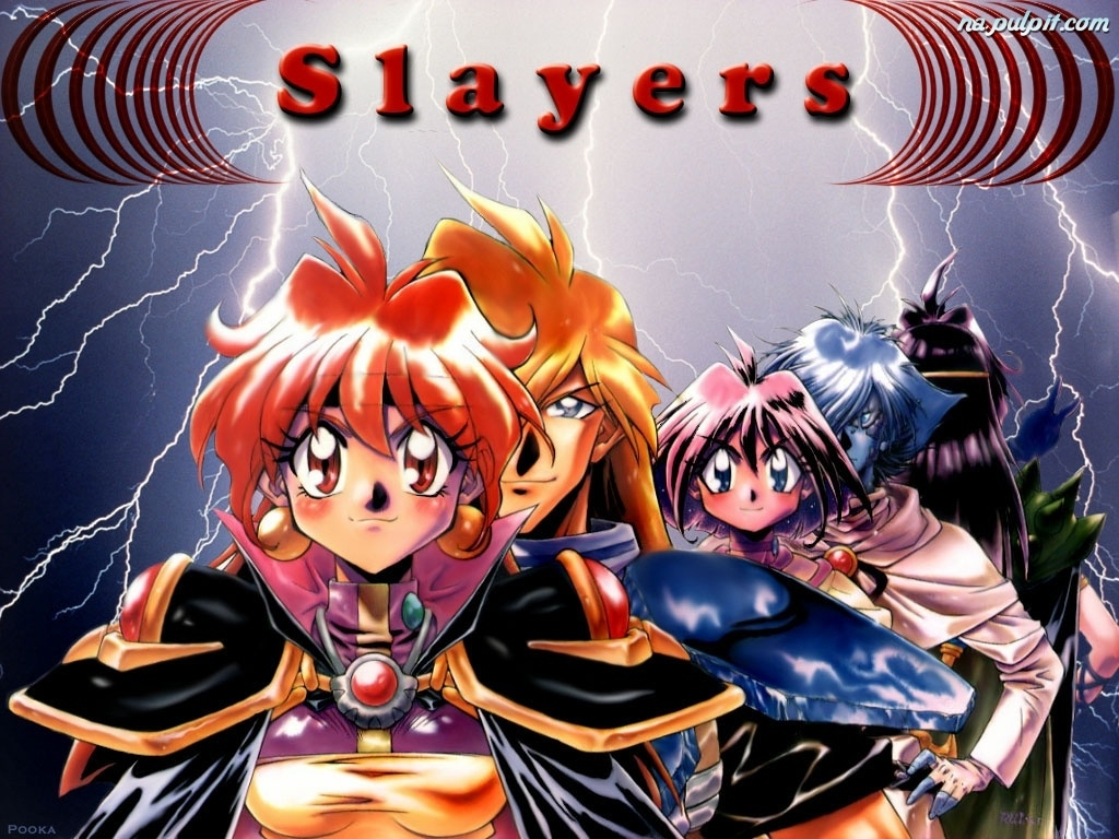 Slayers, Postacie