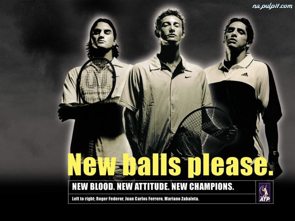 Tennis, New balls please