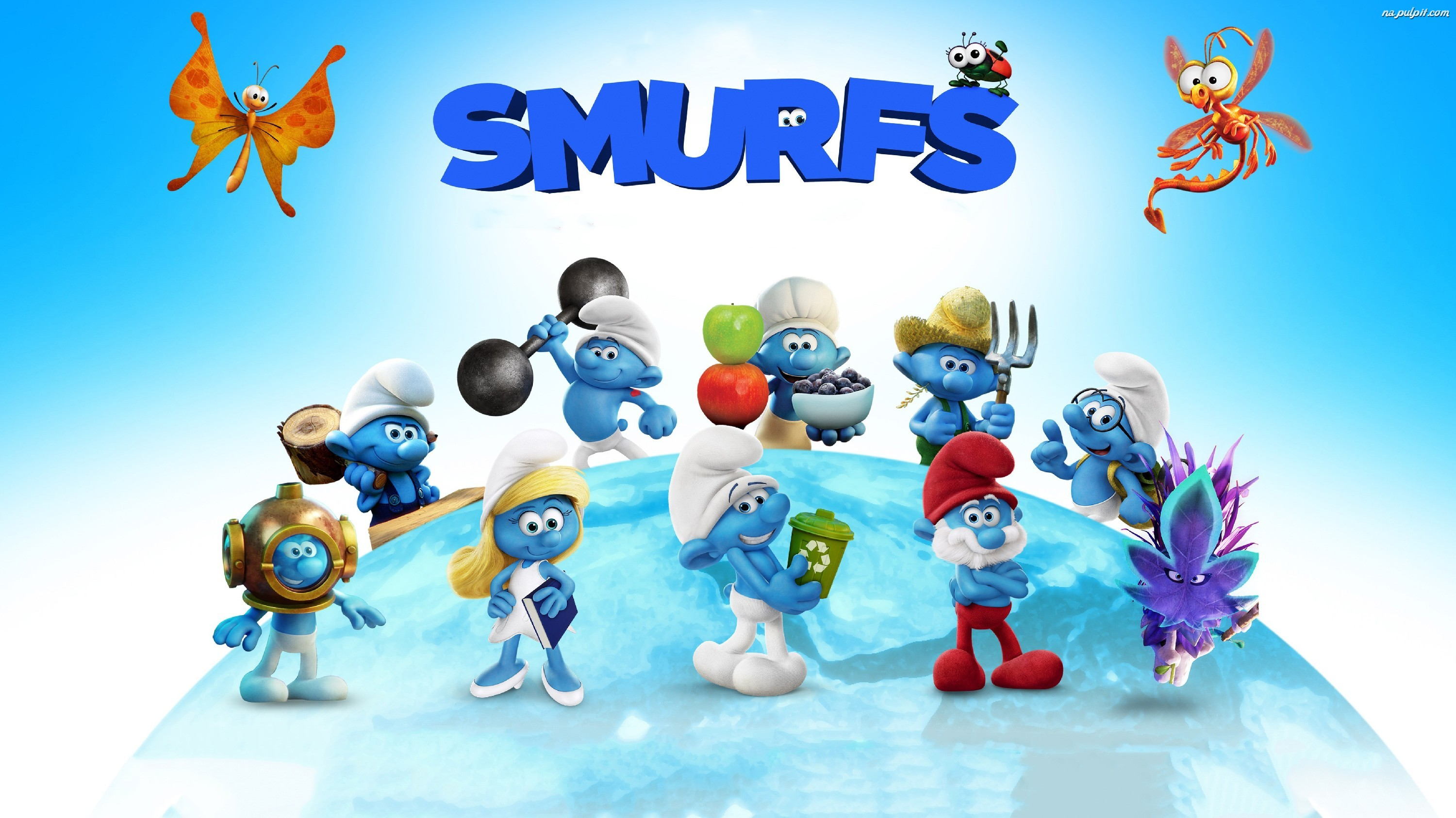 The Smurfs, Film, Postacie, Smerfy