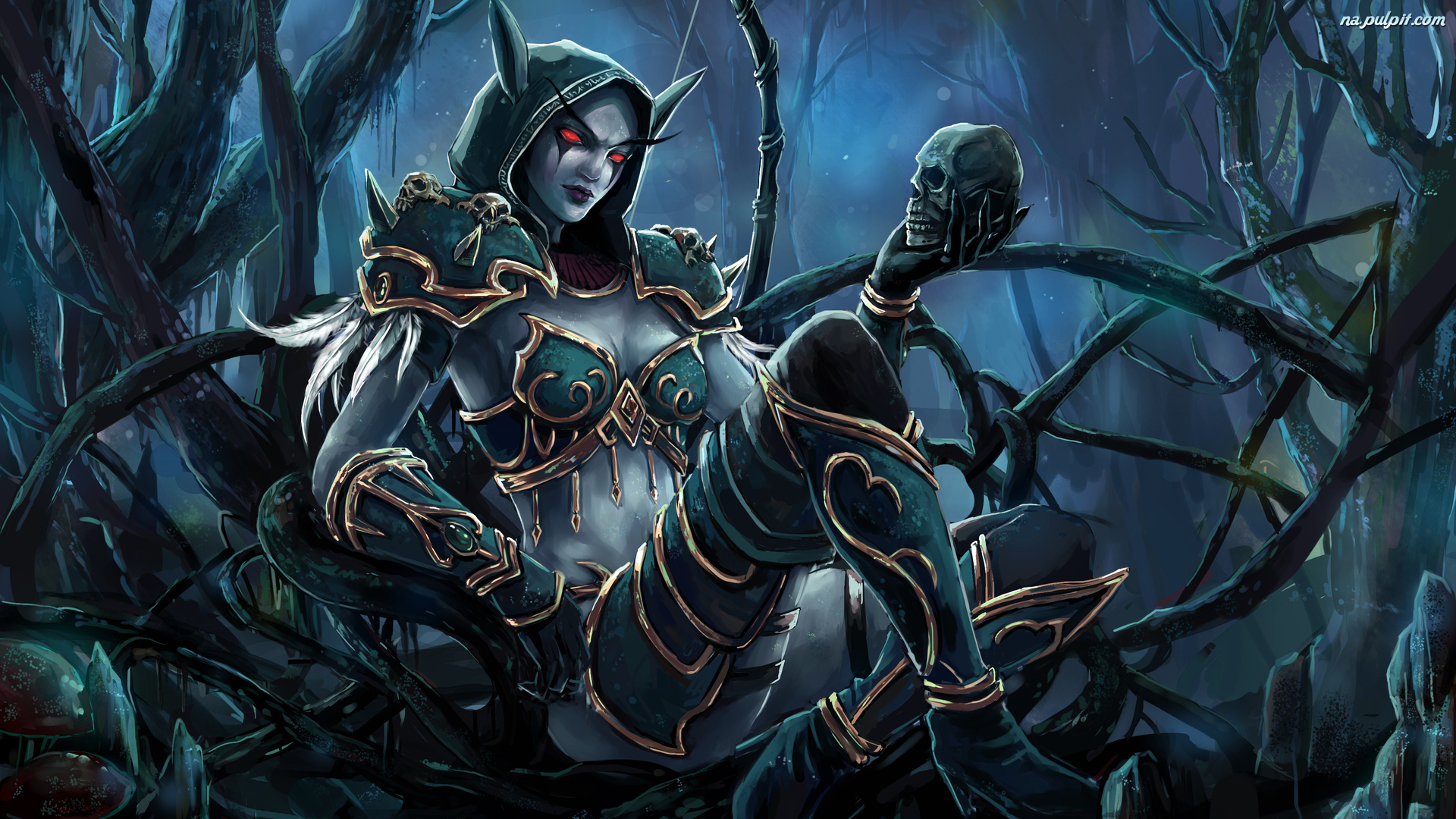 Sylvanas Windrunner, World of Warcraft, Gra, Postać