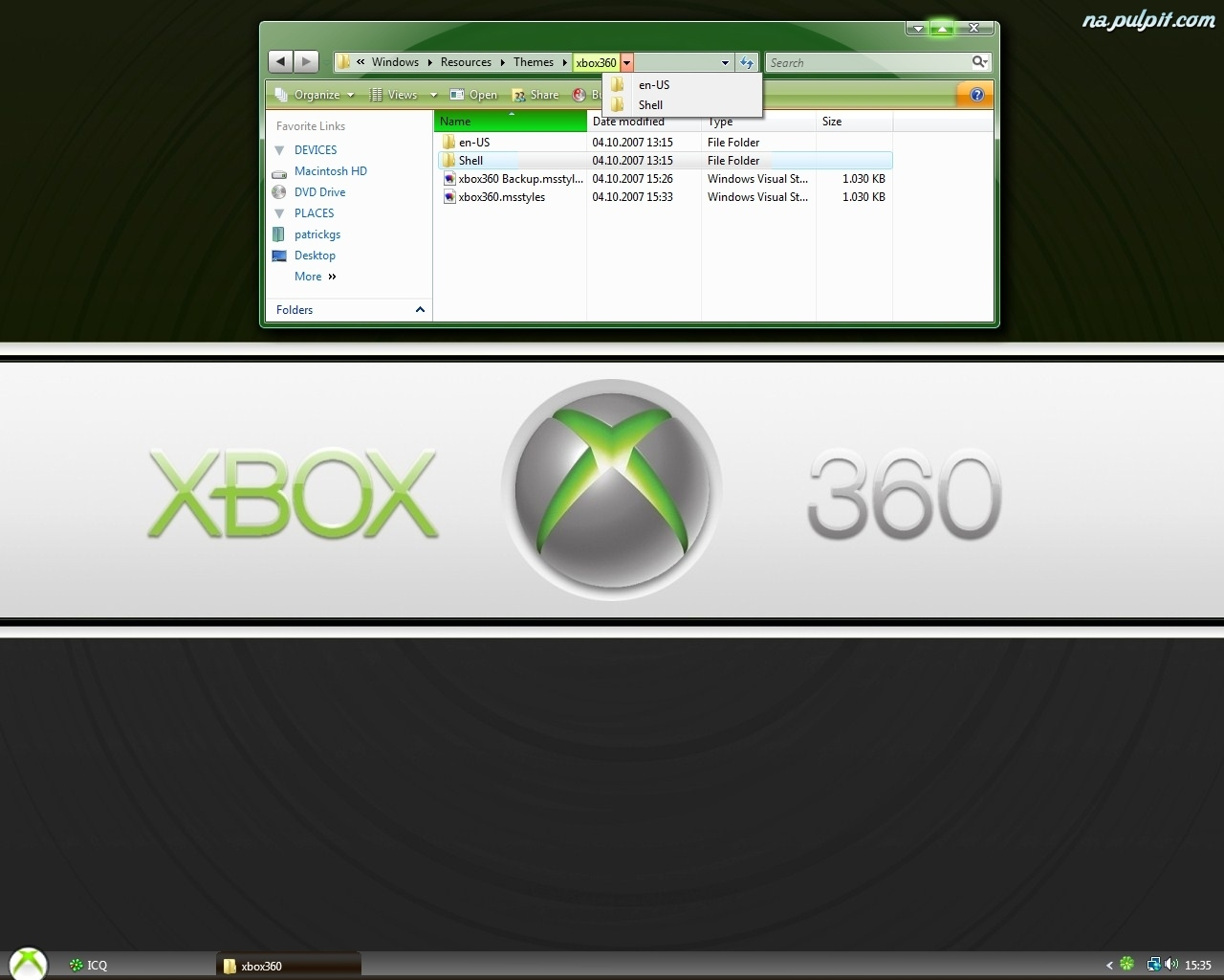 X-Box 360, Pulpit